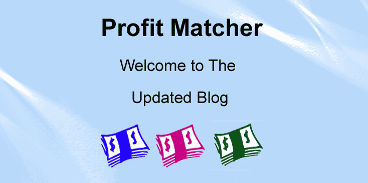 Welcome to Profit Matcher